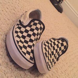 Vans Shoes - Checkerboard Vans